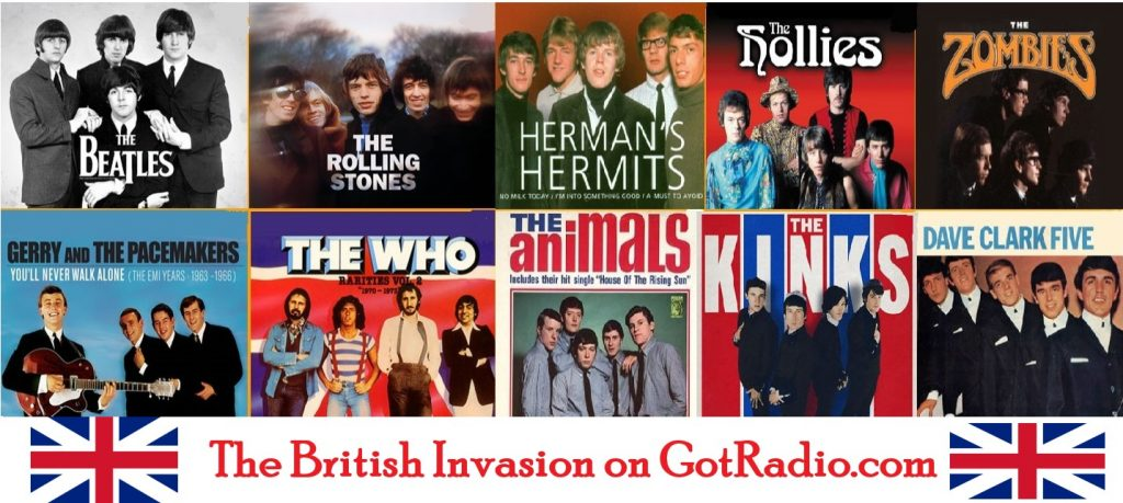 British Invasion groups
